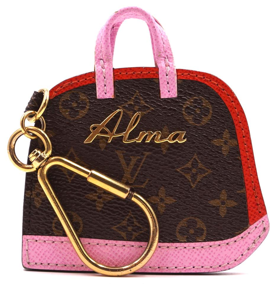 Louis Vuitton Monogram Alma Key Charm