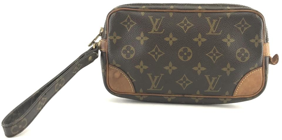 Louis Vuitton Monogram Wristlet Clutch