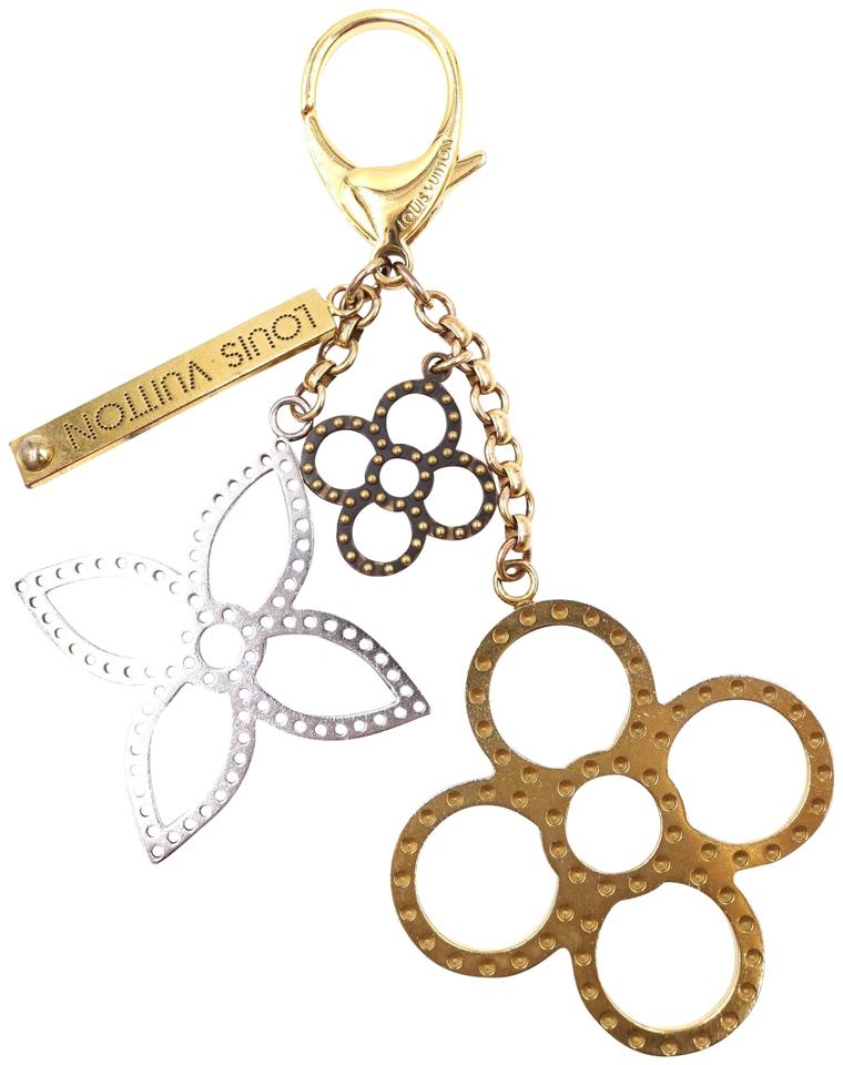 Louis Vuitton Monogram Textured Key Chain Charm