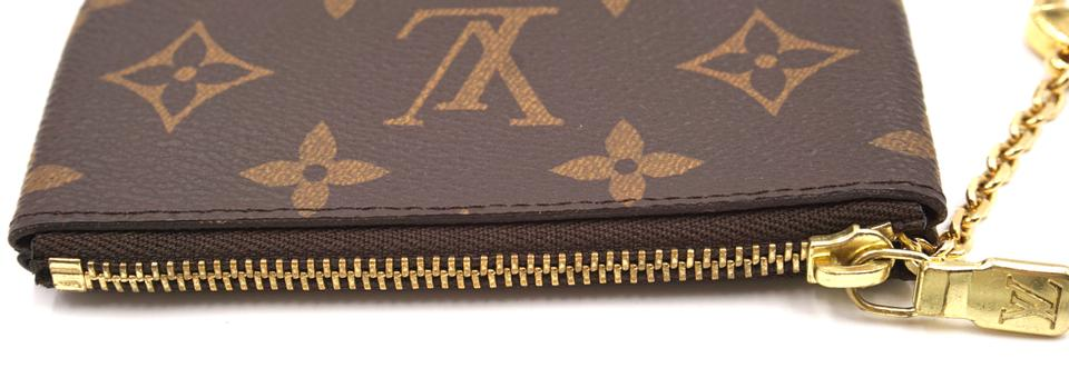 Louis Vuitton Monogram Zippy Key Cles Wallet