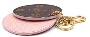 Louis Vuitton Monogram with Mirror Charm Key Ring Charm