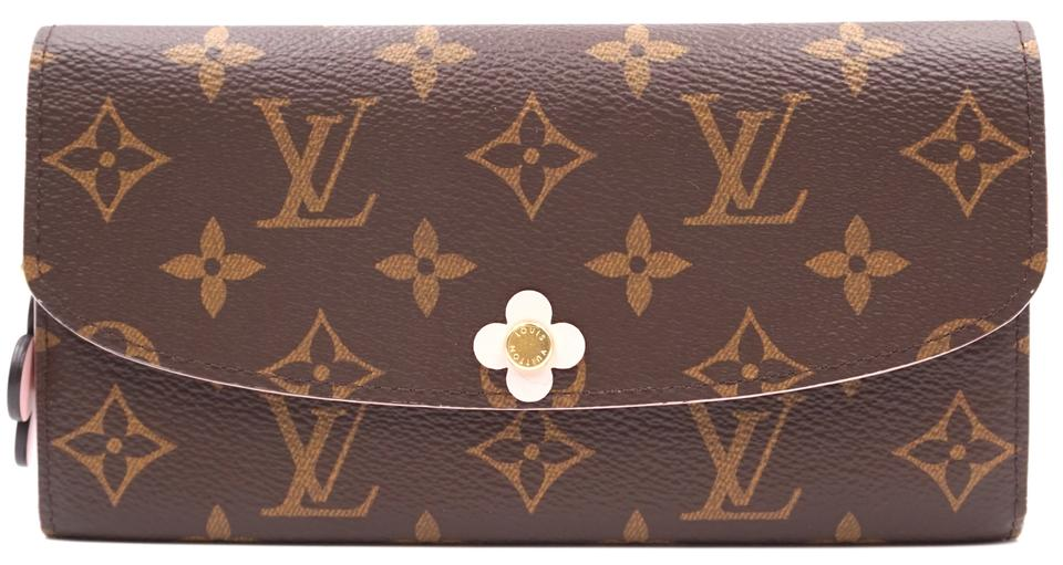 Monogram Sarah Flowers Flap Coin Long Wallet