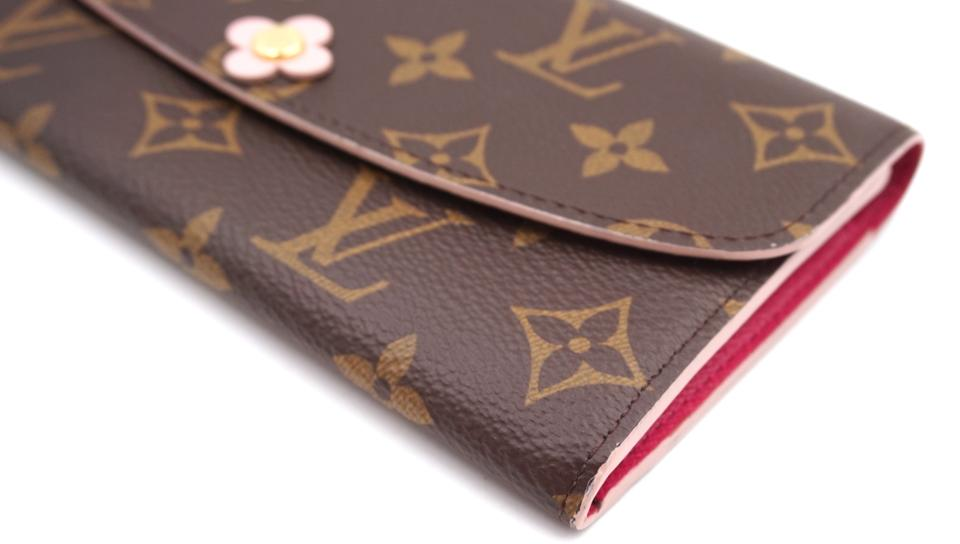 Louis Vuitton Monogram Sarah Flowers Long Wallet