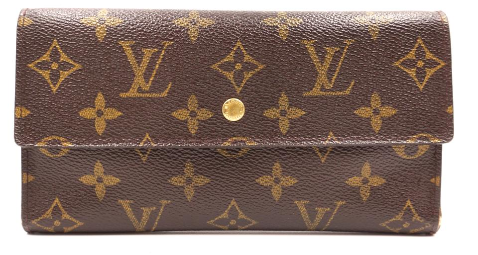 Monogram International Trifold Long Wallet