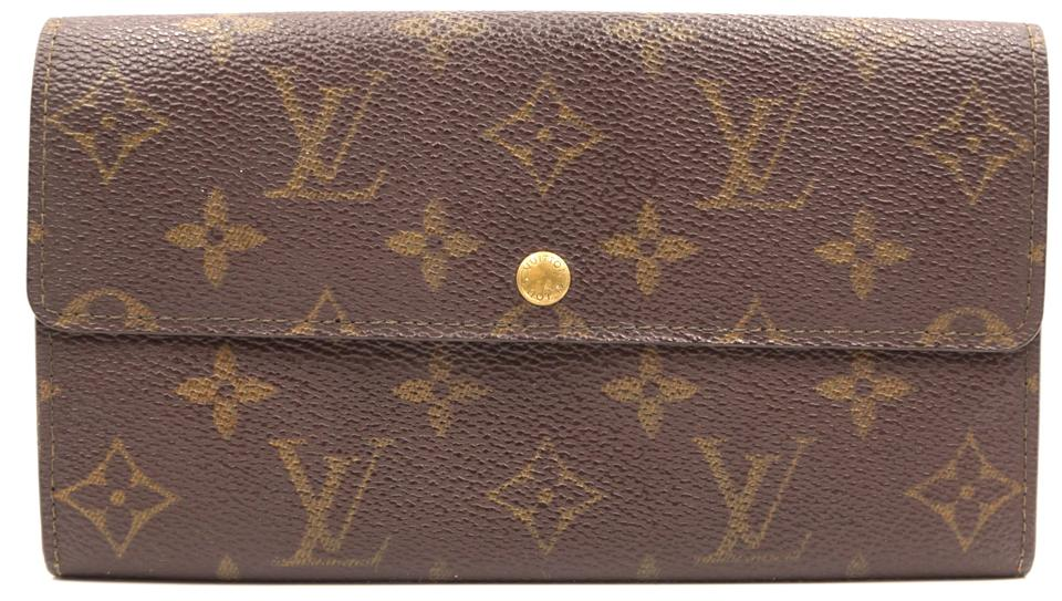 Monogram Vintage Long Flap Wallet