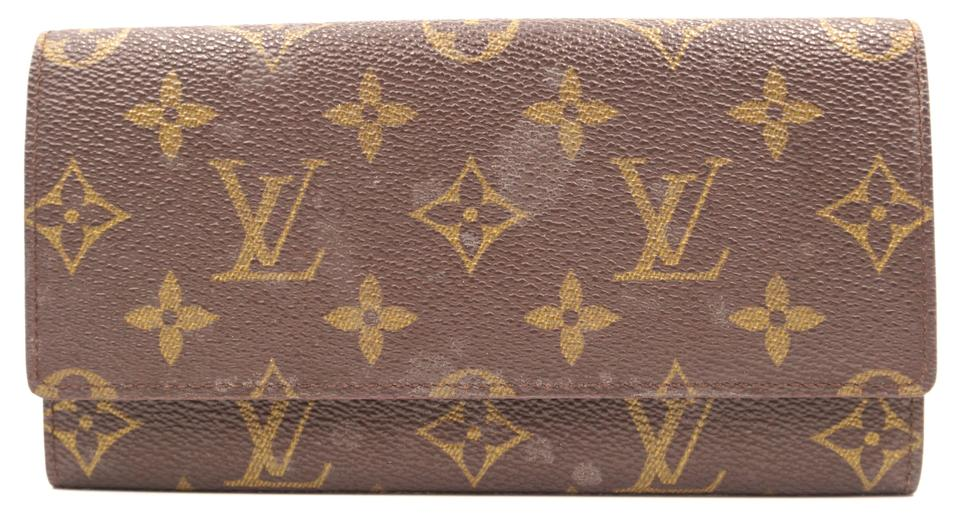 Monogram Long Flap Wallet