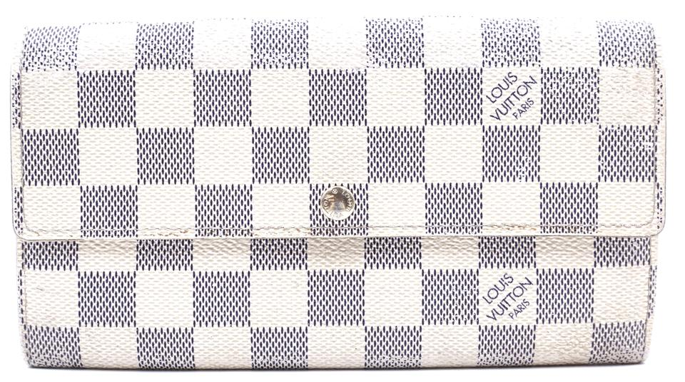 Damier Azur Sarah Long Flap Wallet