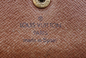 Louis Vuitton Monogram Sarah Vintage Long Flap Wallet