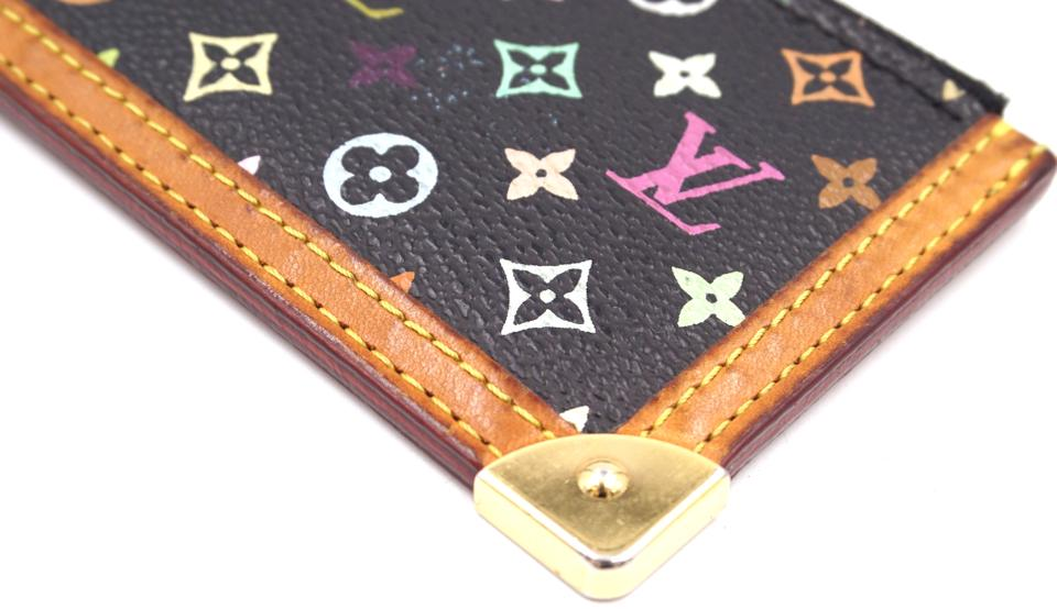 7ea749de67 Louis Vuitton Monogram Black Multicolor Cles Pocket Wallet - NYC ...