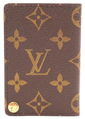 Louis Vuitton Monogram Bifold Card Wallet