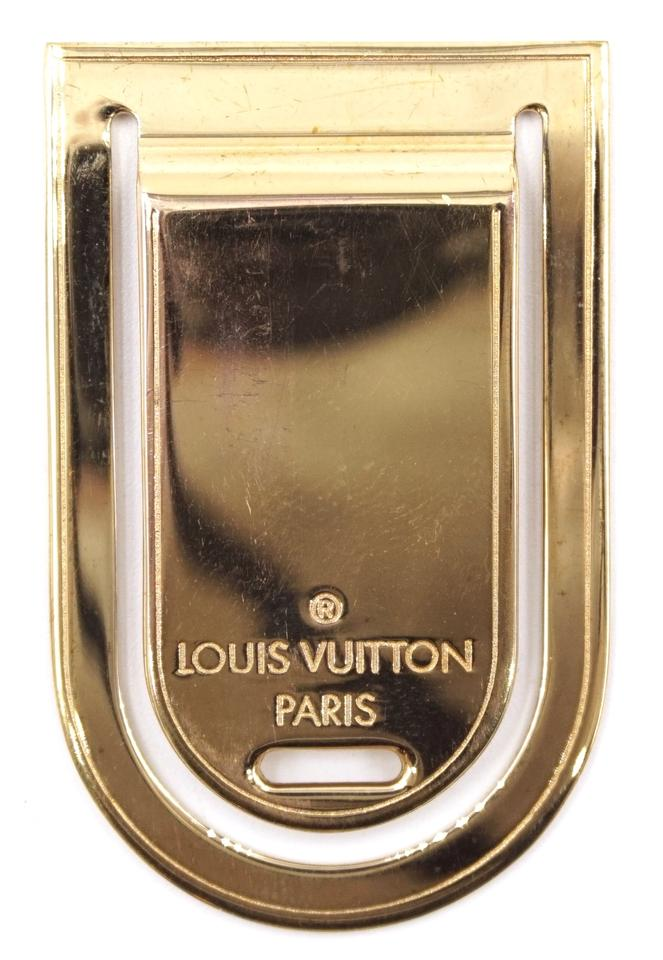 Louis Vuitton Money Clip Holder Luggage Tag Charm