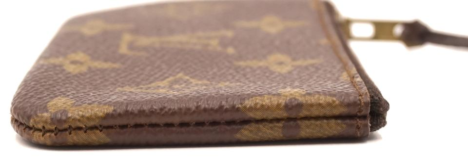 Louis Vuitton Monogram Zippy Key Cles Coin Wallet