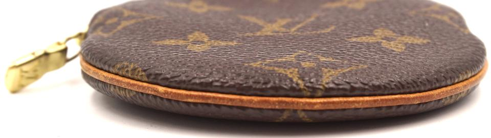 Louis Vuitton Monogram Round Coin Wallet