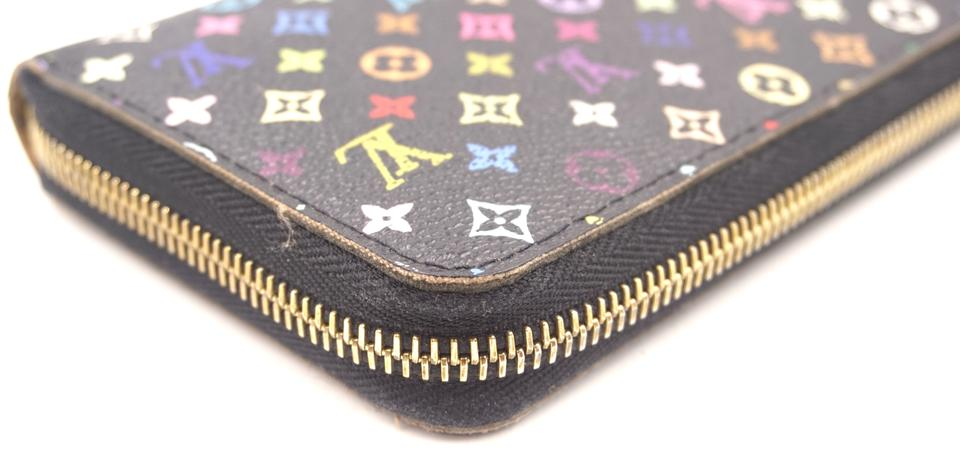 Louis Vuitton Multicolor Monogram Zip Around Organizer Wallet