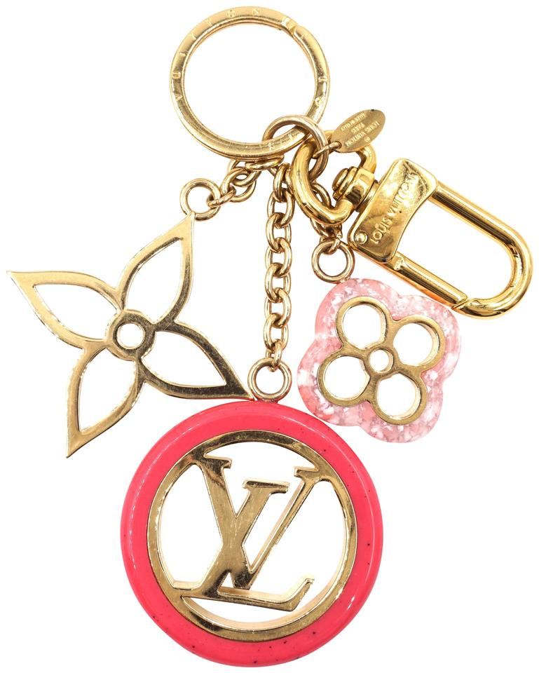 Louis Vuitton Monogram Cutout Key Chain Charm