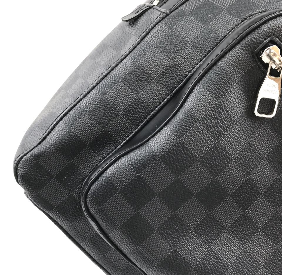 Louis Vuitton Damier Graphite Josh Knapsack Backpack