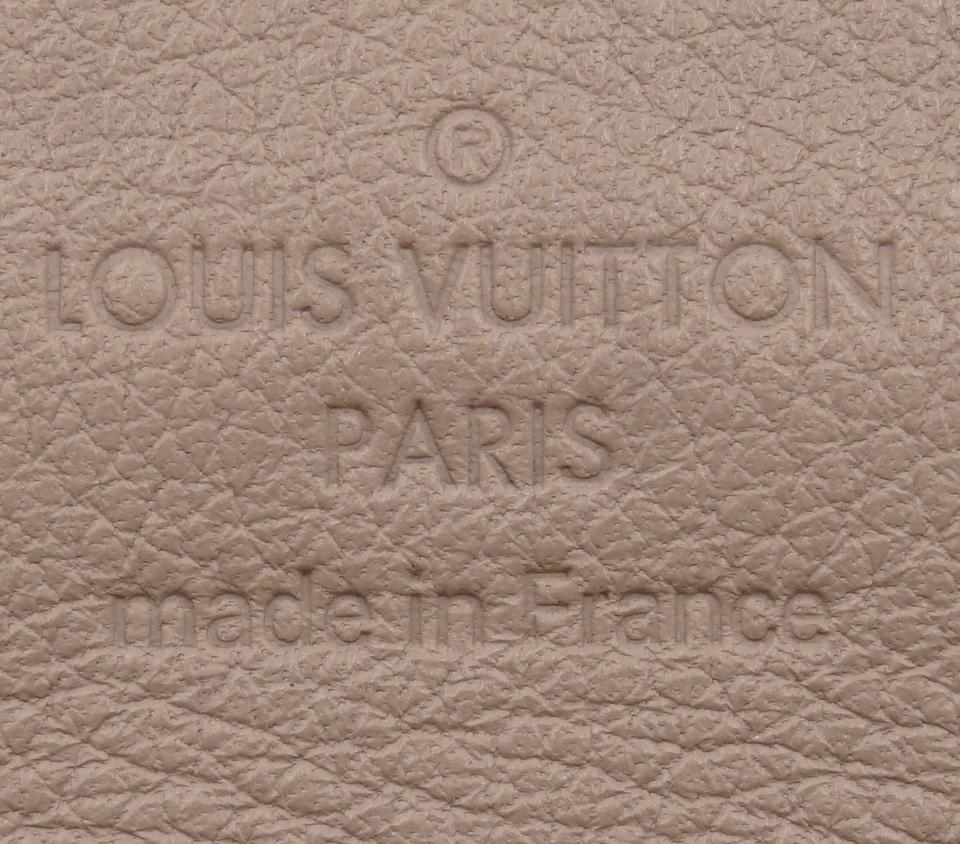 Louis Vuitton Monogram Mahina Iris Long Wallet