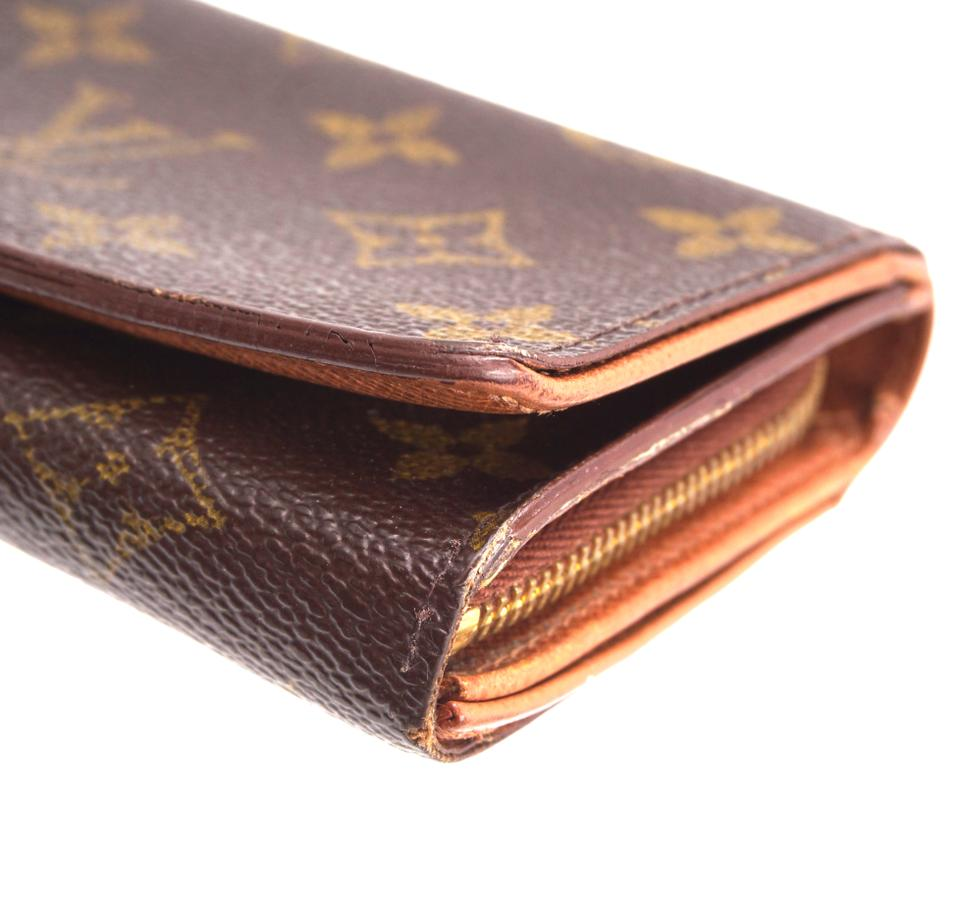 Louis Vuitton Monogram Short Flap Wallet