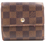Louis Vuitton Damier Ebene Square Double Sided Wallet