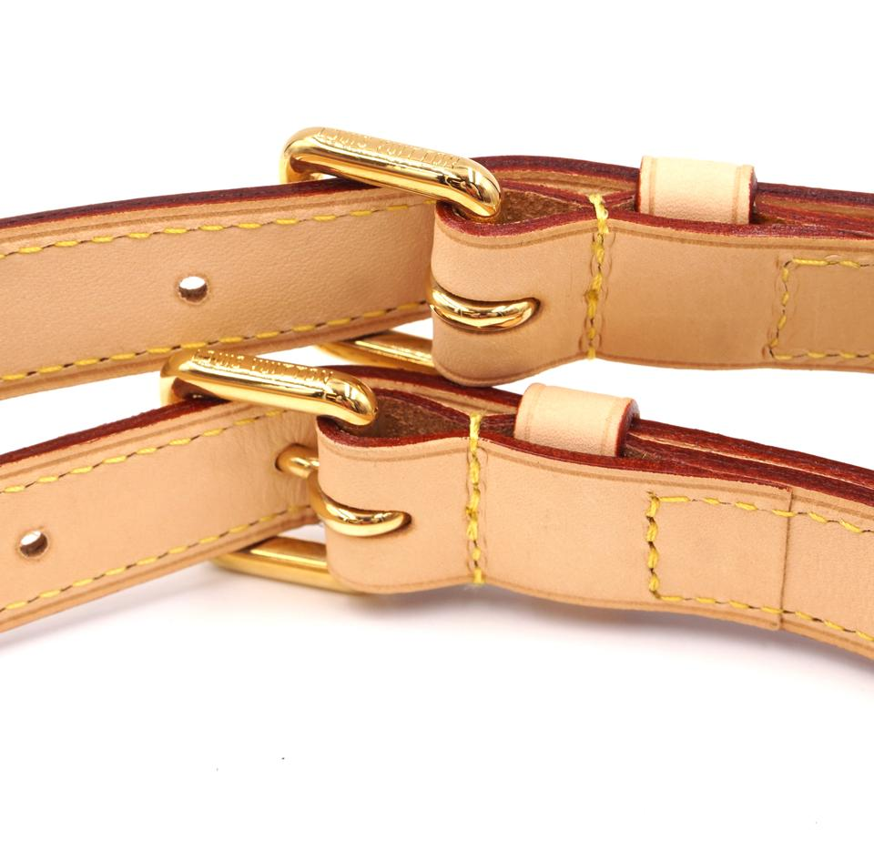 Louis Vuitton Natural Vachetta Leather Adjustable Shoulder Strap
