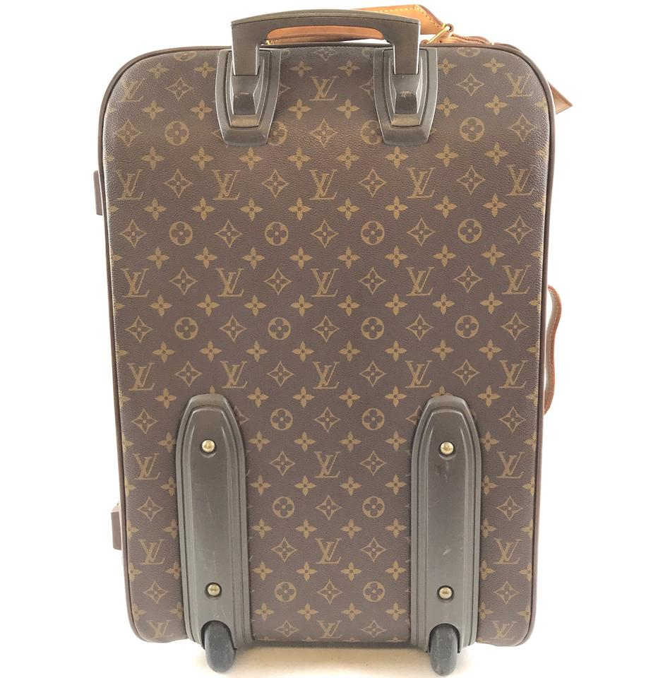 9ee23679d Authentic Louis Vuitton Pegase 55 Roller Monogram Canvas ...