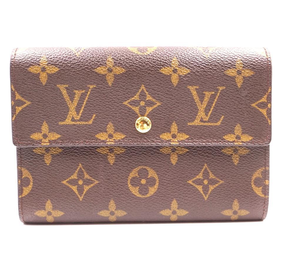 Louis Vuitton Monogram Trifold Organizer Long Wallet