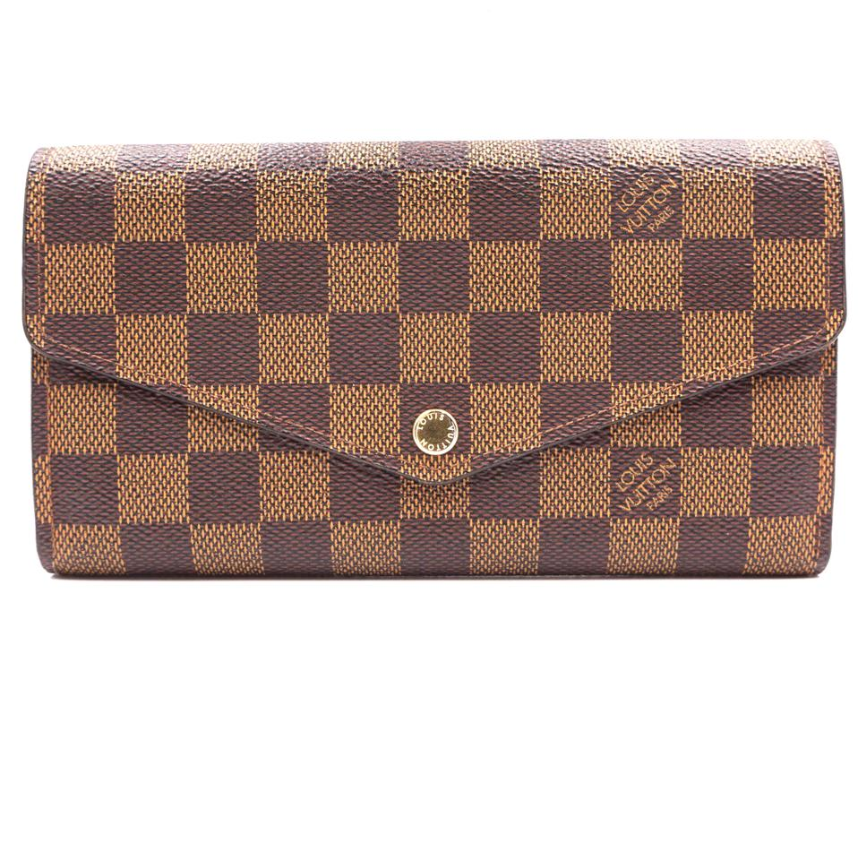 Louis Vuitton Damier Ebene Neo Sarah Organizer Long Wallet