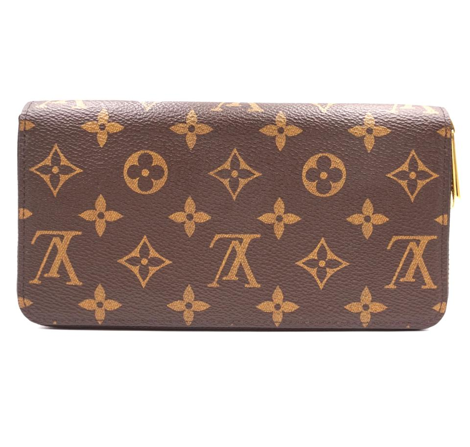 Louis Vuitton Monogram Zip Around Organizer Long Wallet