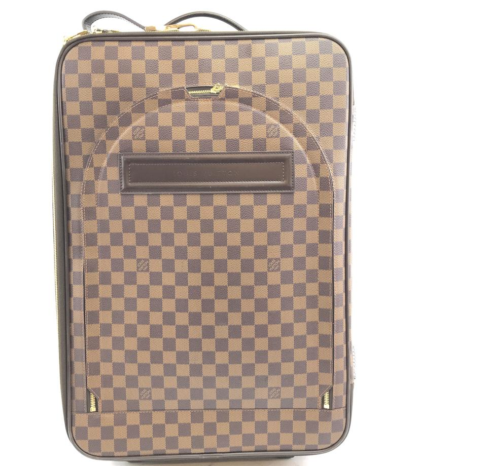 Louis Vuitton Pegase 55 Roller Damier Ébène Canvas