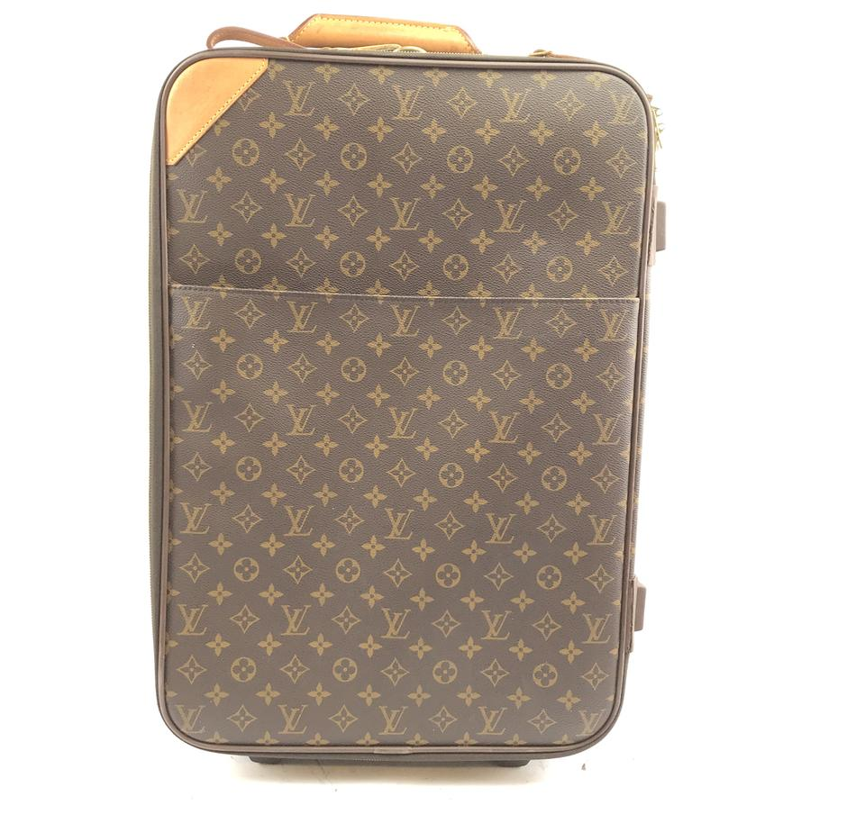 Louis Vuitton Pegase 55 Roller Monogram Canvas