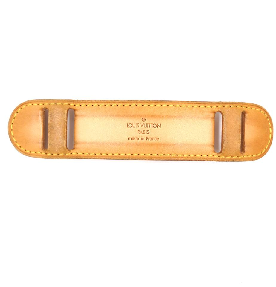 Louis Vuitton Natural Vachetta Leather Shoulder Pad