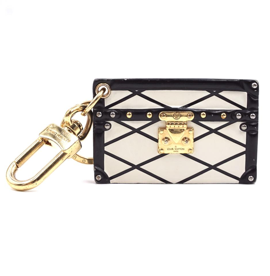 Louis Vuitton Petite Malle Monogram Print Key Charm