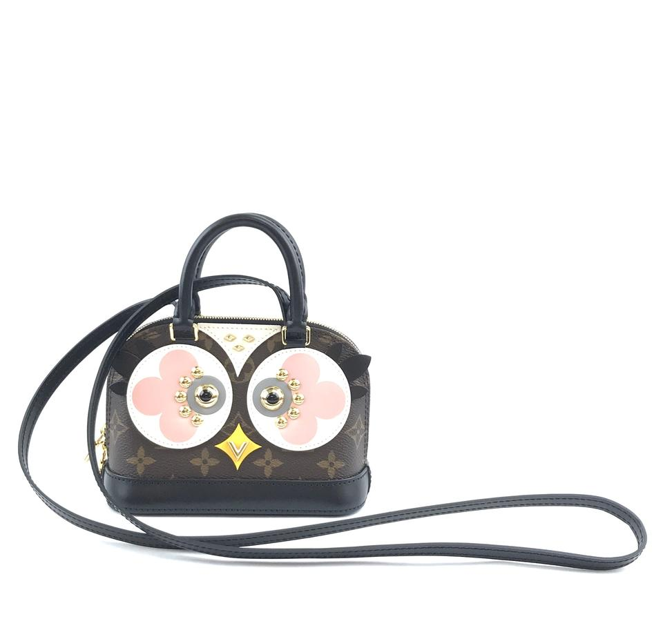 Louis Vuitton Alma Owl Nano Monogram Canvas