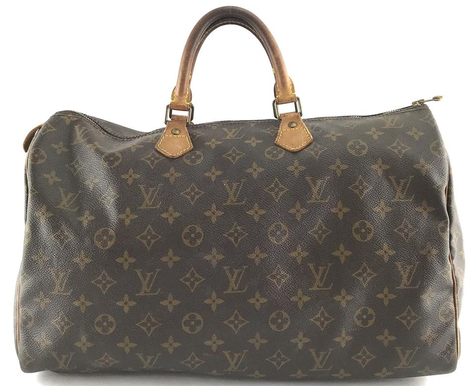 Louis Vuitton Monogram Duffle Speedy 40