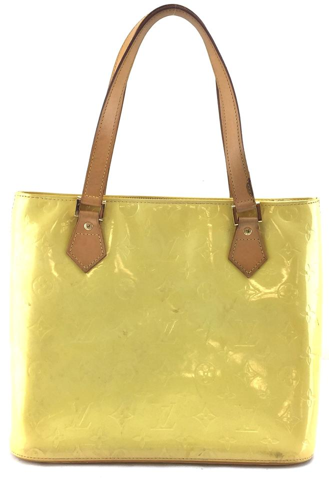 Louis Vuitton Vernis Leather Monogram Houston Tote