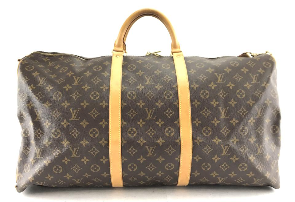 Louis Vuitton Monogram Keepall Bandouliere 60