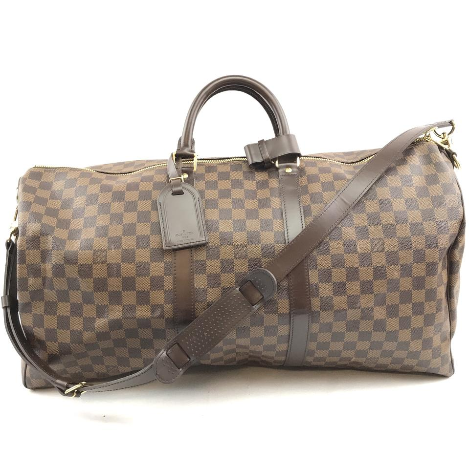 Louis Vuitton Damier Ebene Keepall 55