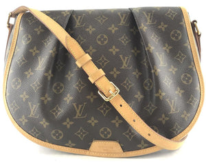 Louis Vuitton Monogram Menilmontant Mm