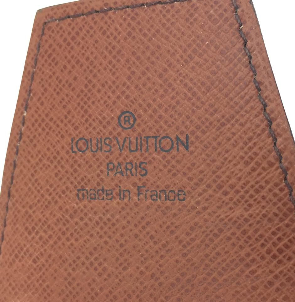 Louis Vuitton Monogram Card Cigar Holder