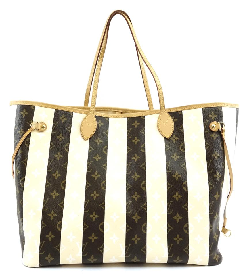 Louis Vuitton Rayures Neverfull Gm Monogram Canvas