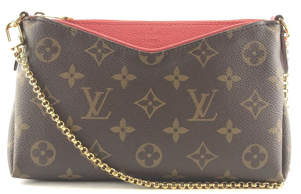 Monogram Pallas Clutch