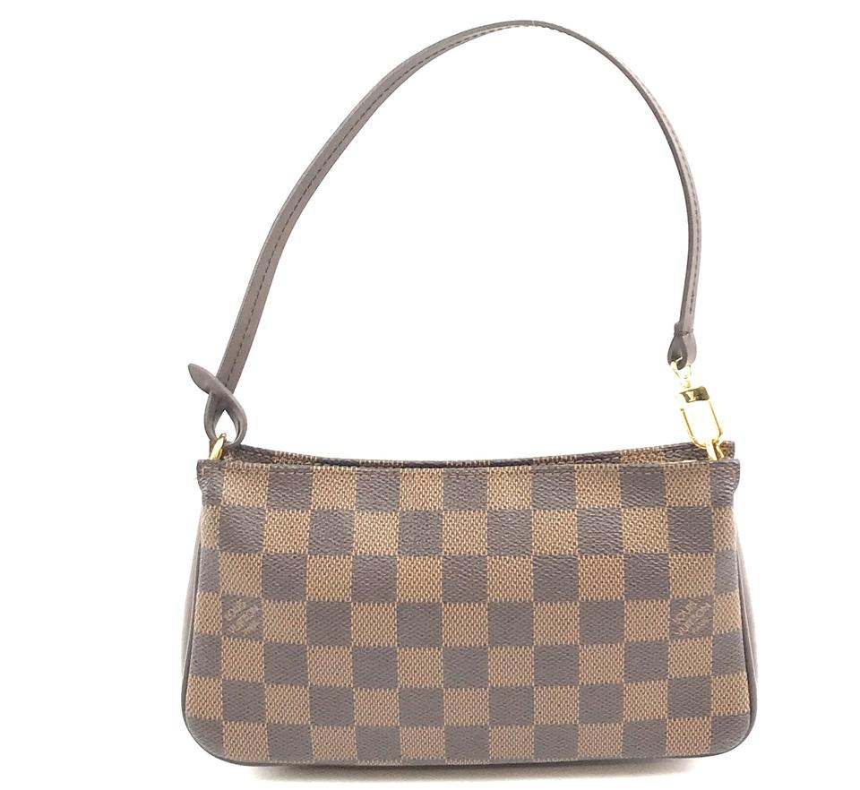 Louis Vuitton Pochette Navona Damier Ebene Canvas