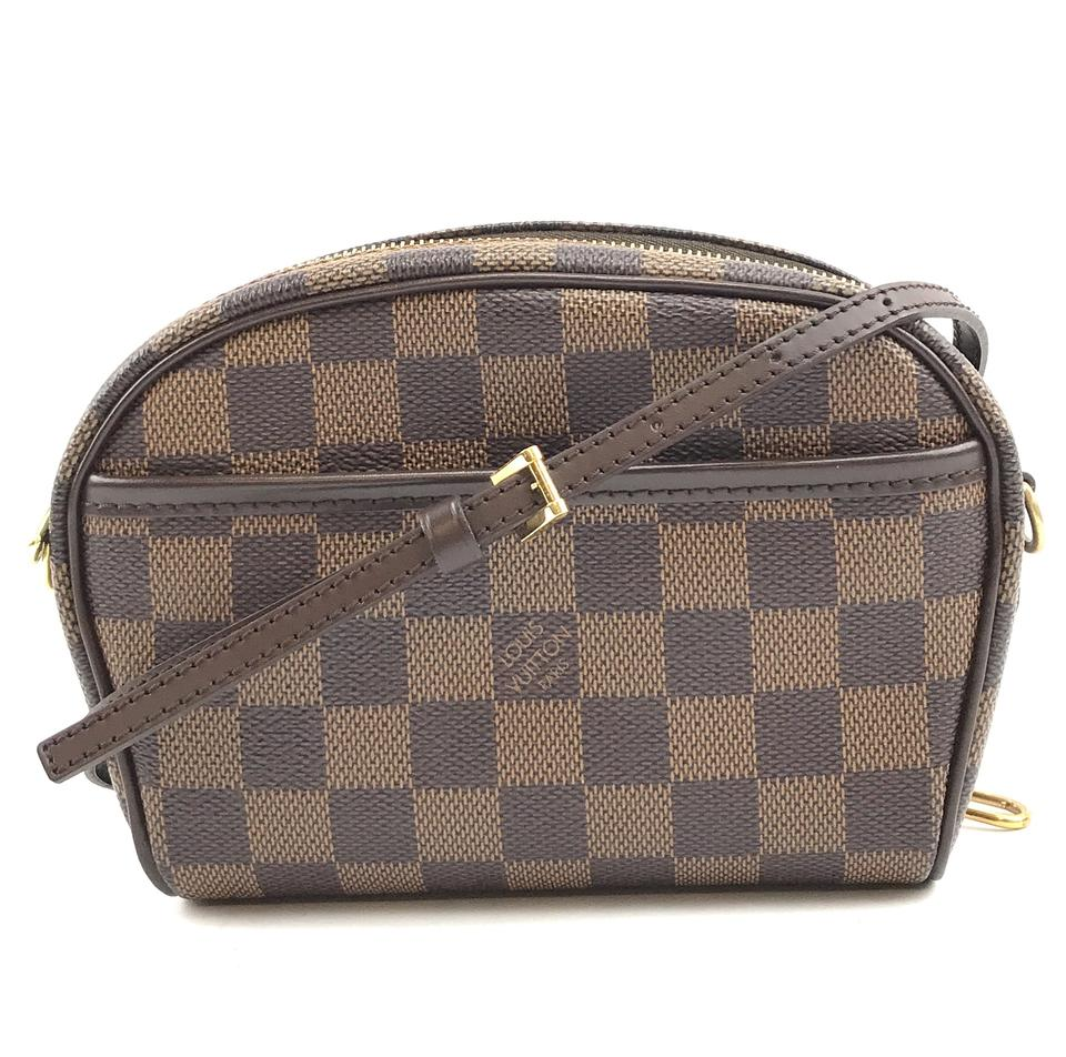 Louis Vuitton Pochette Ipanema Damier Ebene Canvas