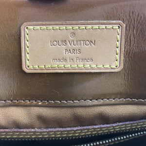 Louis Vuitton Reade MM Monogram Patent Leather