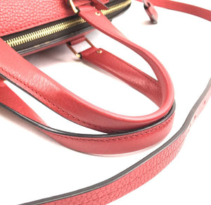 Louis Vuitton Monogram Red Leather Retiro NM