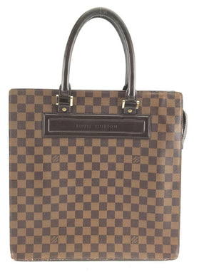 Louis Vuitton Damier Ebene Sac Plat GM