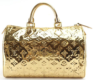 Louis Vuitton Monogram PVC Mirror Speedy 30