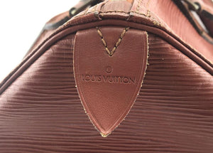 Louis Vuitton Speedy 30 Monogram Fawn Epi Leather