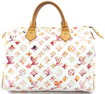 Monogram Watercolor Speedy 30