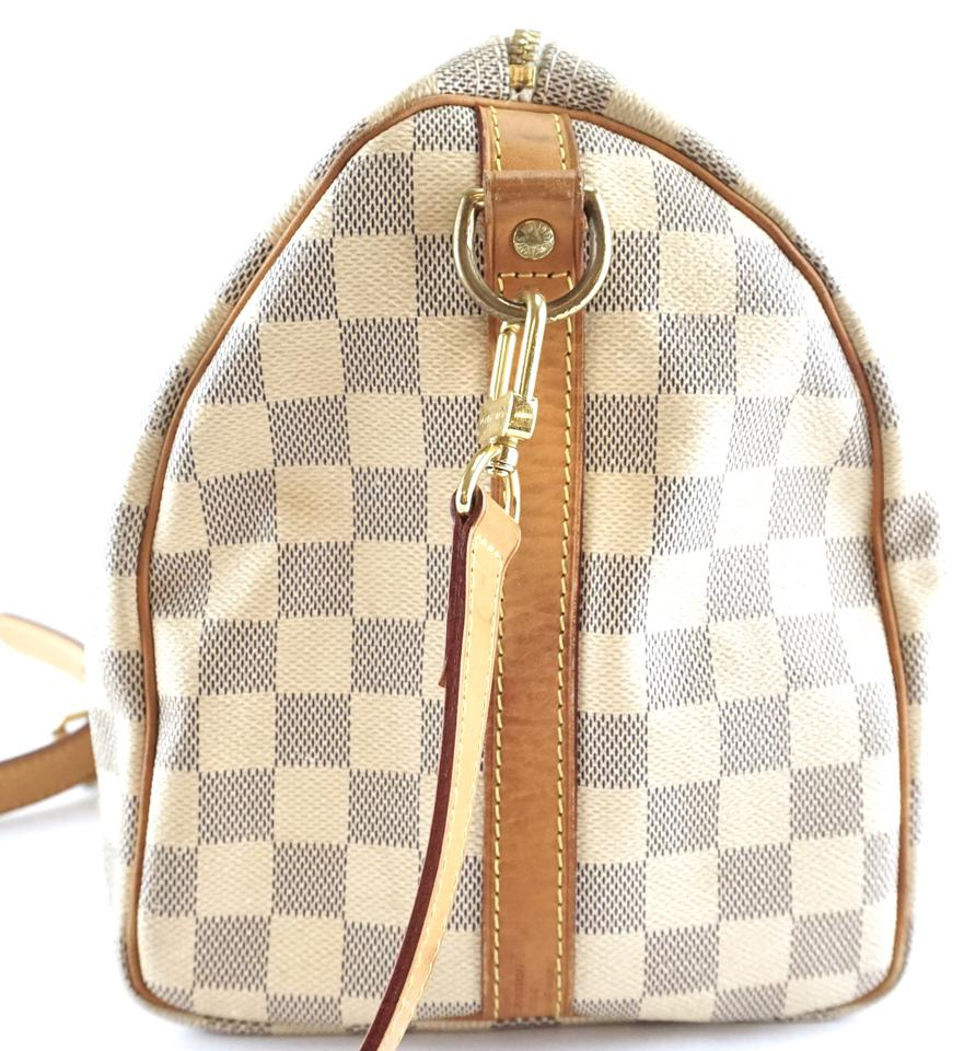 Louis Vuitton Speedy Bandouliere 30 Damier Azur Canvas